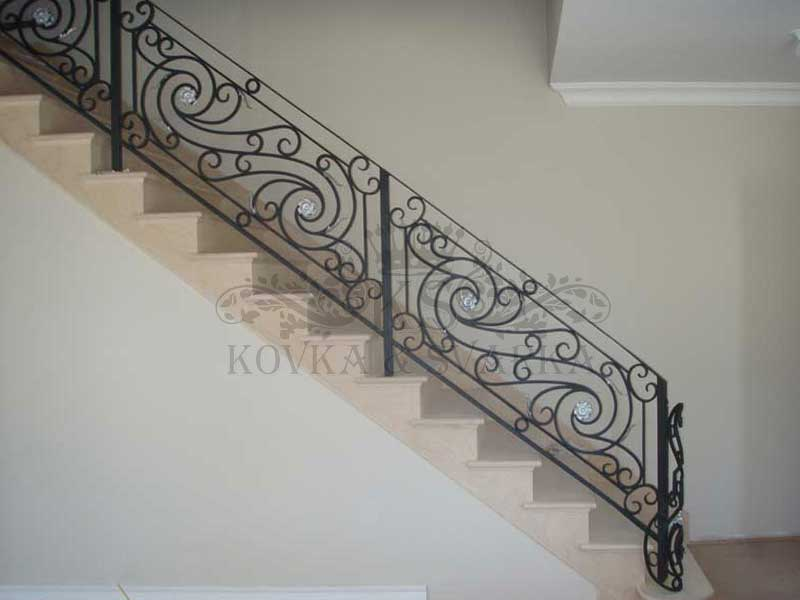 Кованые ограждения для лестниц и балконов